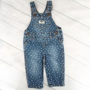 Oshkosh B'Gosh Heart Vestbak Overall Pants